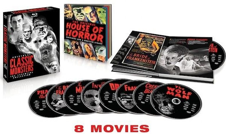 Dracula, The Mummy and six other horror classics coming in a Blu-ray set October 2nd (video)