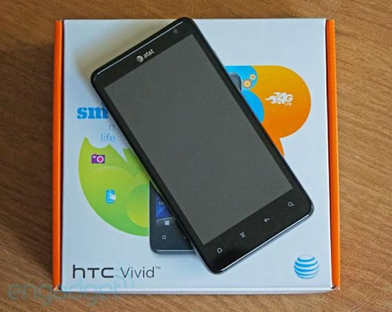 AT&T rolls out Android 4.0 to HTC Vivid, other devices getting ICS in the 'coming months'