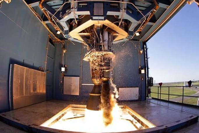 Space X successfully test-fires Merlin 1D engine, forgets to buy marshmallows