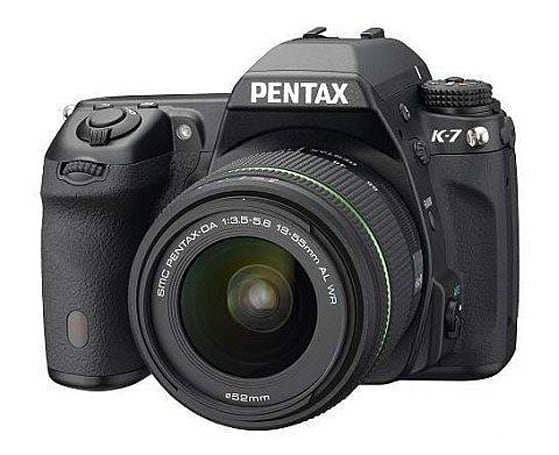 Pentax K-7 and K-x firmware upgrades pack SDXC compatibility