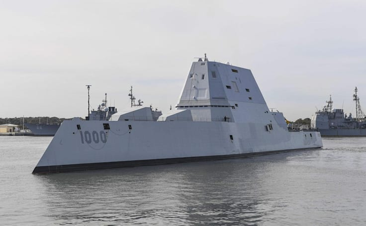 US' new stealth destroyer may finally have affordable ammo