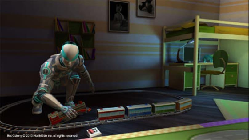 Interrogate the robots of Bot Colony