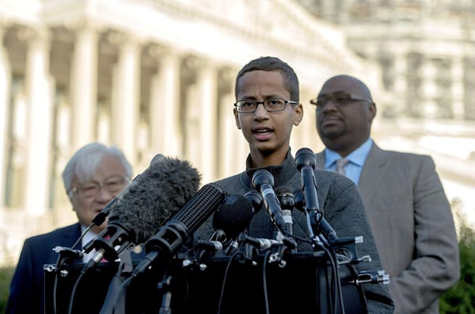 Troublesome details arise about 'Clock Kid' Ahmed's arrest