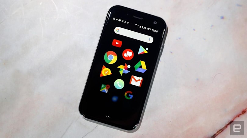 Palm is selling an unlocked version of its tiny smartphone