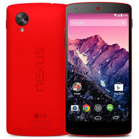 The red Nexus 5 is now on sale at Google Play