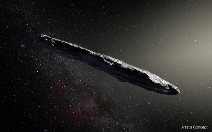 That cigar-shaped asteroid might be covered in organic goo