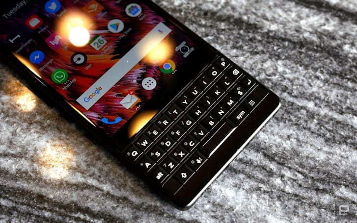 TCL will stop selling BlackBerry-branded phones in August