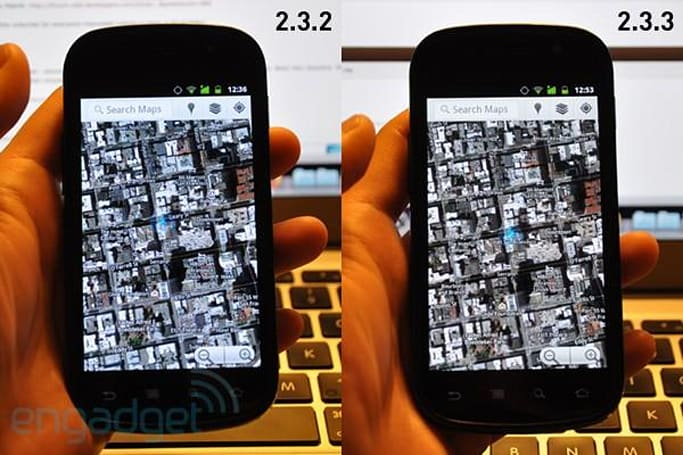 Nexus S 2.3.3 update adjusts screen's color temperature, we go eyes-on