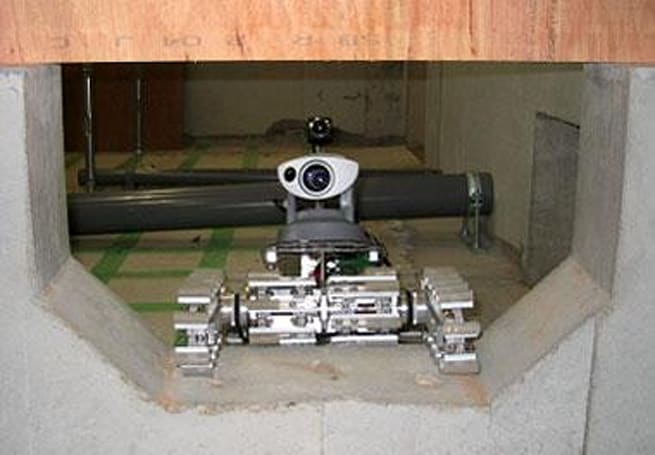 Japanese under-floor inspection bot announced
