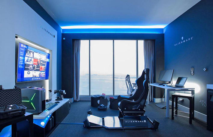 Alienware may have created the ultimate gamer hotel suite