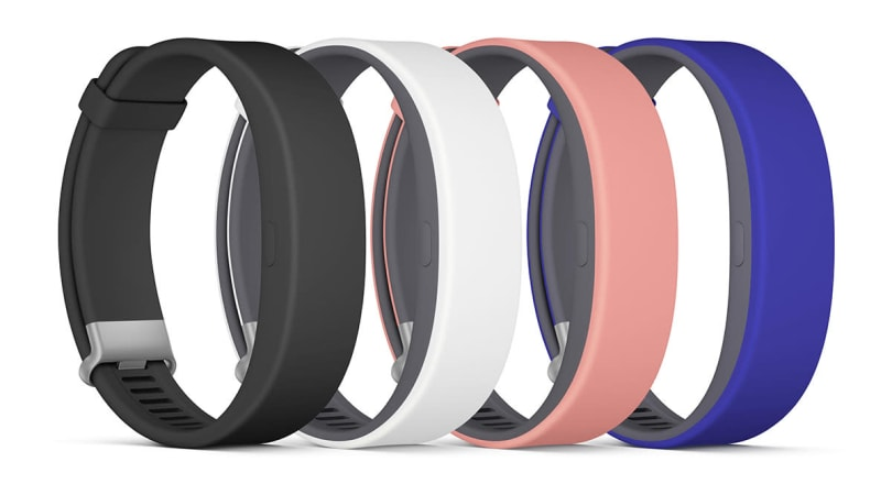 Sony's latest SmartBand has a heart rate monitor