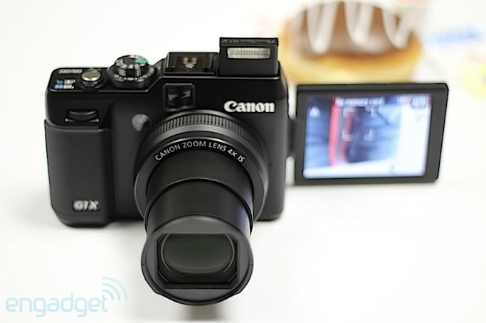 Canon PowerShot G1 X hands-on (video)