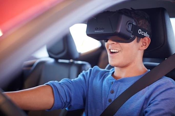 Toyota's VR driving simulator teaches teens to focus on the road