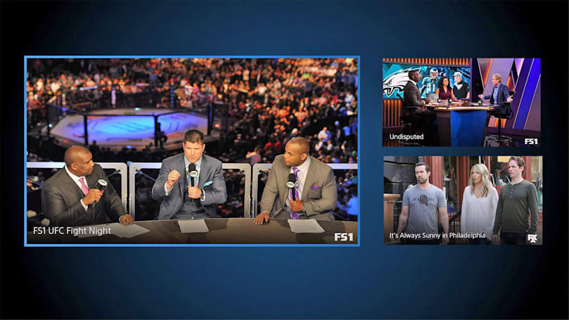 PlayStation Vue's multi-picture mode comes to Apple TV