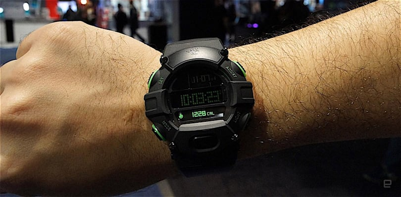 Razer's Nabu Watch is a tribute to the past
