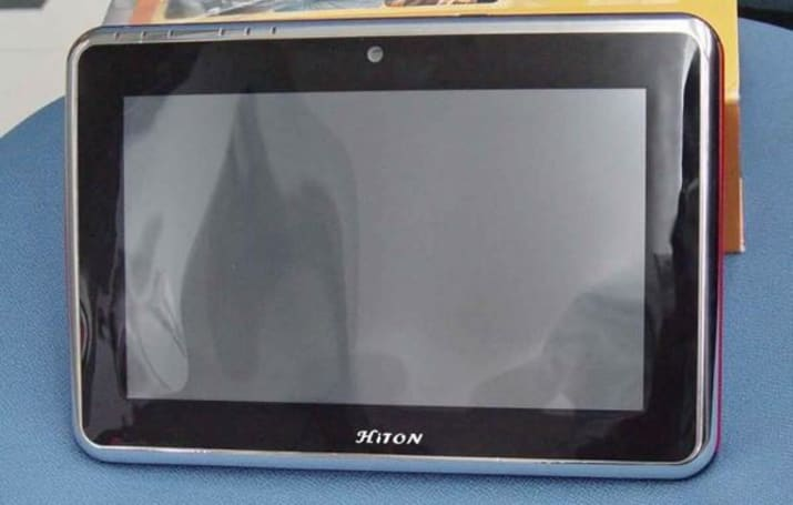 Hiton HT-960 tablet rocks HP Slate's specs, $100 cheaper price