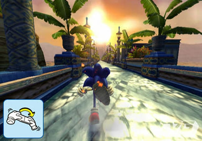 More Sonic Wii photos surface -- show off Wiimote movement