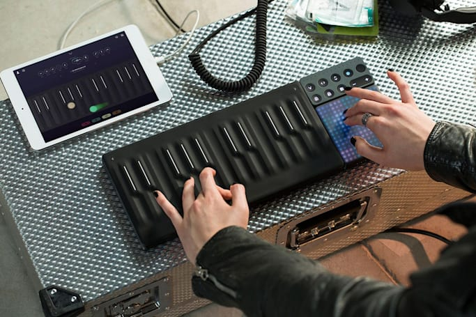Roli expands its modular music gear with the touch-friendly Seaboard