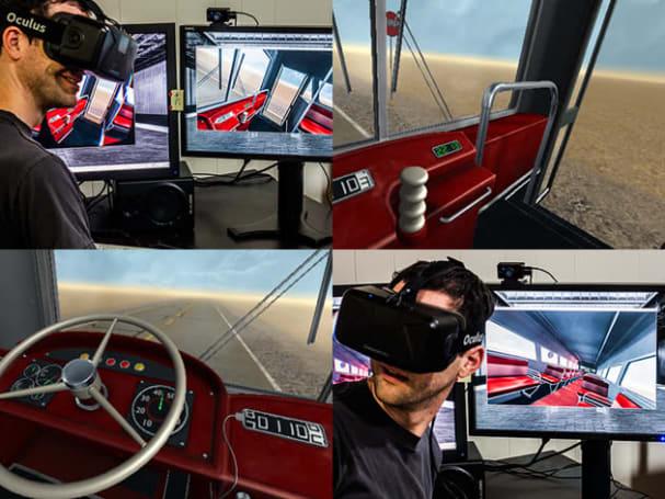 You can play Penn & Teller's wonderfully uneventful 'Desert Bus' in VR