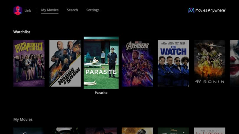 LG TVs add a Movies Anywhere app