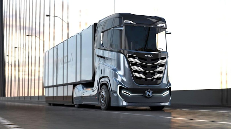 Nikola will unveil electric versions of two semi-trucks in April