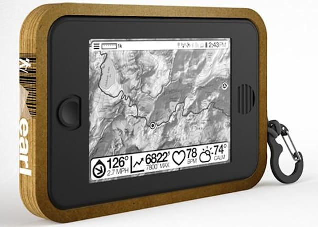 Sqigle's Earl tablet brings Android to the wilderness with e-paper, solar power