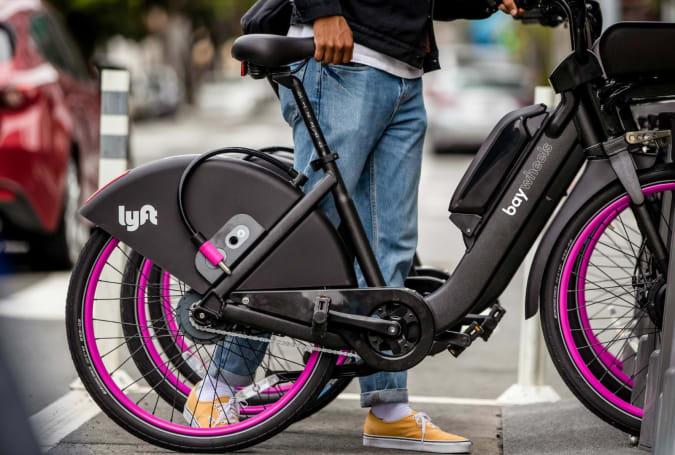 Lyft disables San Francisco e-bikes after suspected battery fires