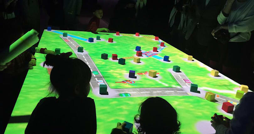 Enter the tech-powered playground of the future