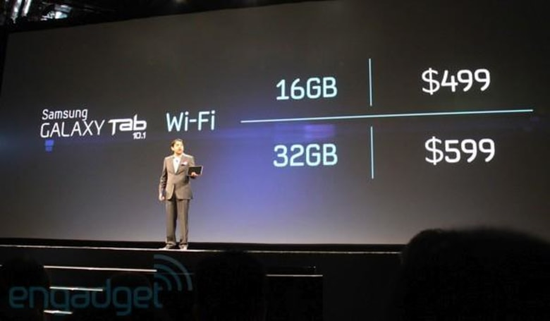 Galaxy Tab 10.1 goes up for pre-order at J&R, joined by Galaxy S WiFi 5.0 and 4.0
