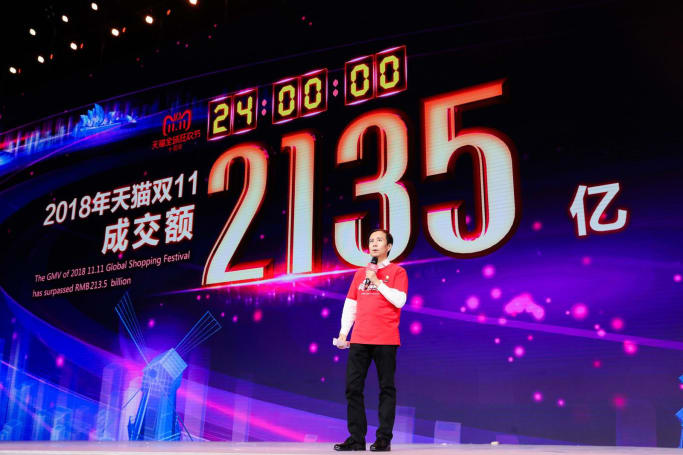 Alibaba's shopping event sales hit $1 billion in 85 seconds