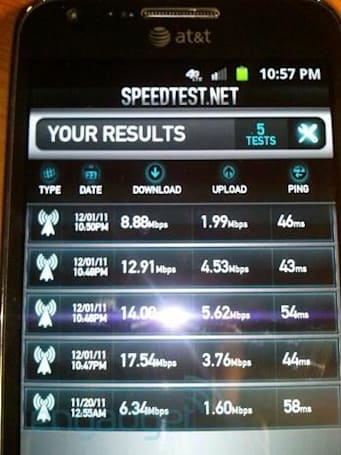 AT&T 4G LTE now working in parts of New York City