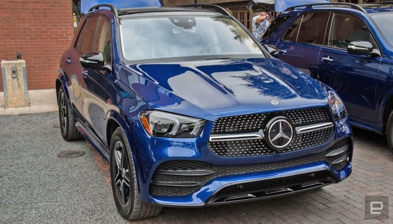 Mercedes' GLE sports impressive suspension technology