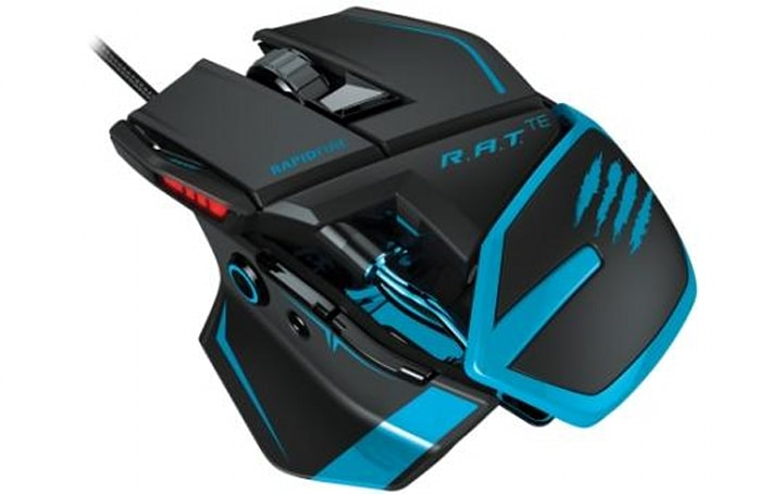 Mad Catz developing R.A.T. professional gaming mouse