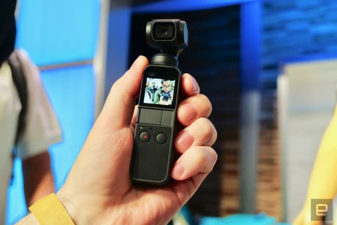 DJI's Osmo Pocket gimbal camera drops to $279 at Amazon
