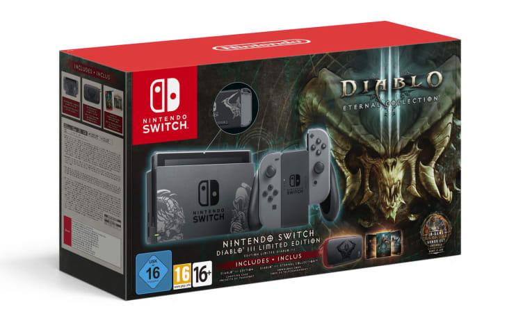 Nintendo is making an artwork-clad 'Diablo III' Switch