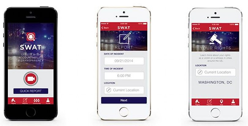 SWAT app wants to help you keep a close eye on cops