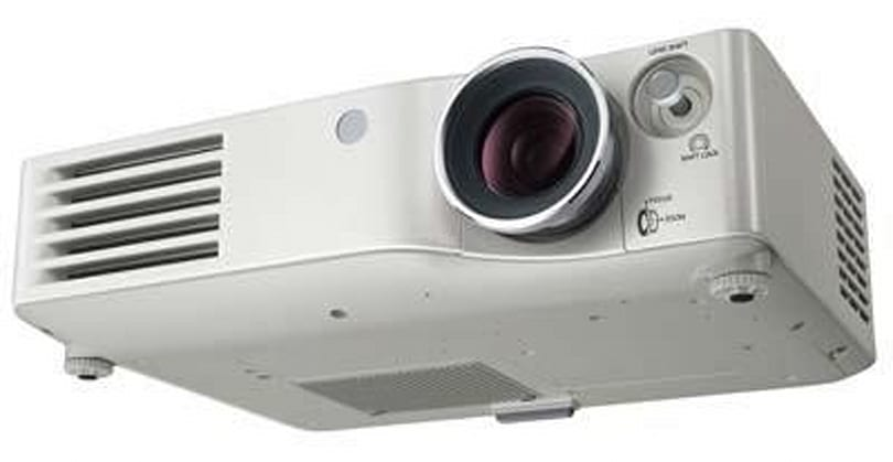 Panasonic's PT-AX100 LCD projector does home theater right