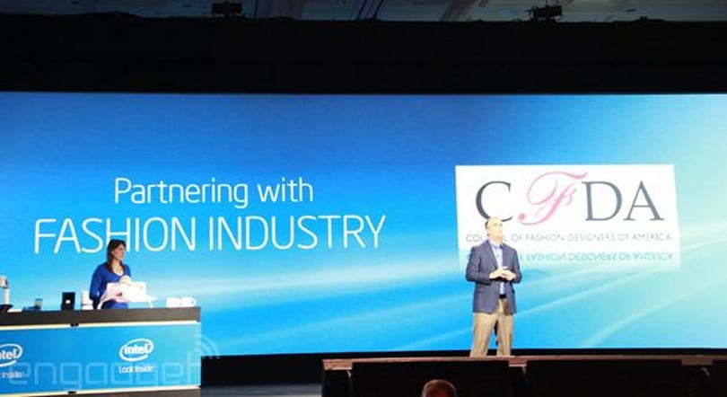 Intel partners with the fashion industry on a stylish smart bracelet