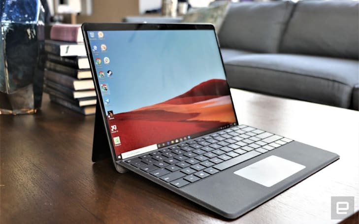 Microsoft's well-designed 2-in-1 Surface Pro X is up to $200 off
