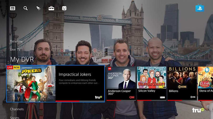 Sony could sell off PlayStation Vue to escape the TV streaming game