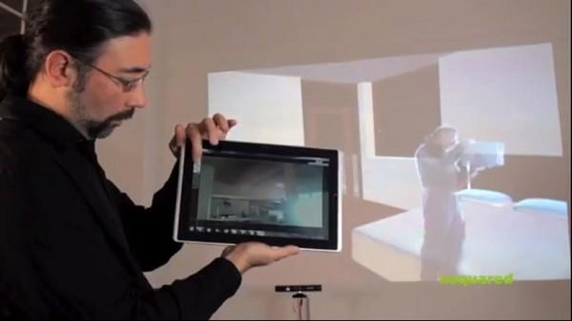 Nsquared's Seamless Computing, Surface + Kinect + Slate + Phone = amazing interface (video)