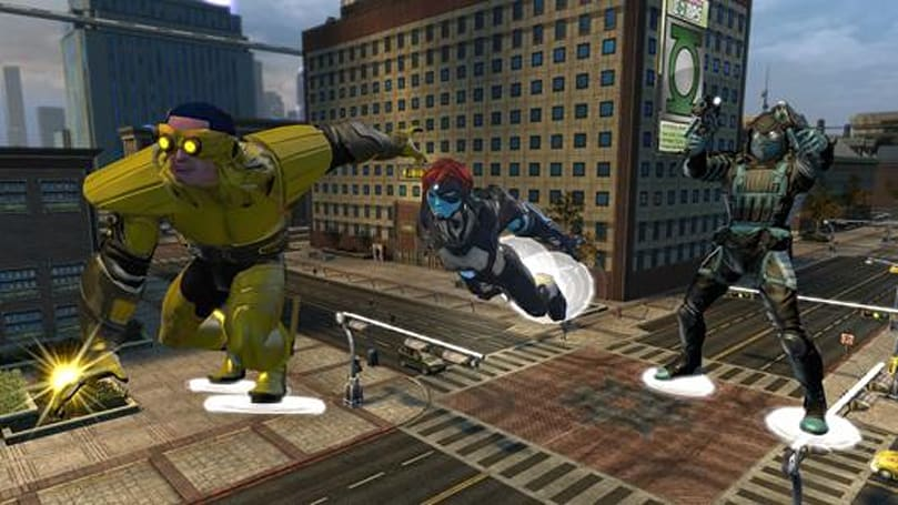 DCUO gets new skimming movement power