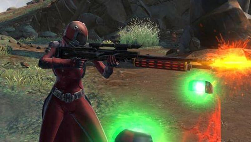 Step into the arena of Star Wars: The Old Republic