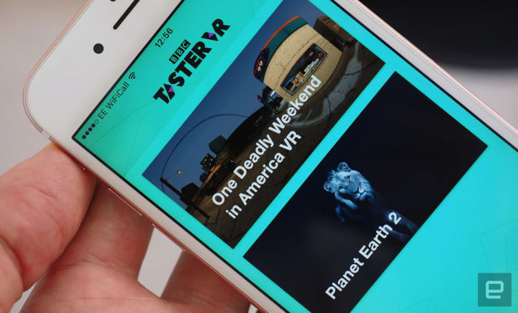 BBC's latest app is a home for its VR experiments