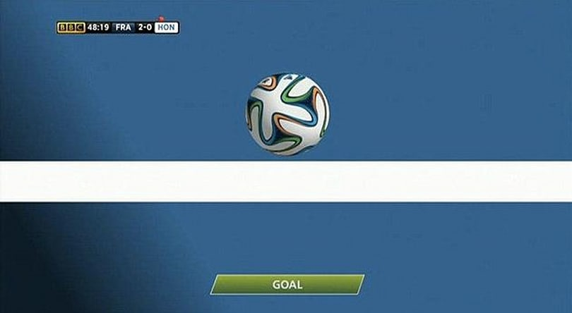 France is the first team to benefit from goal-line tech at the World Cup