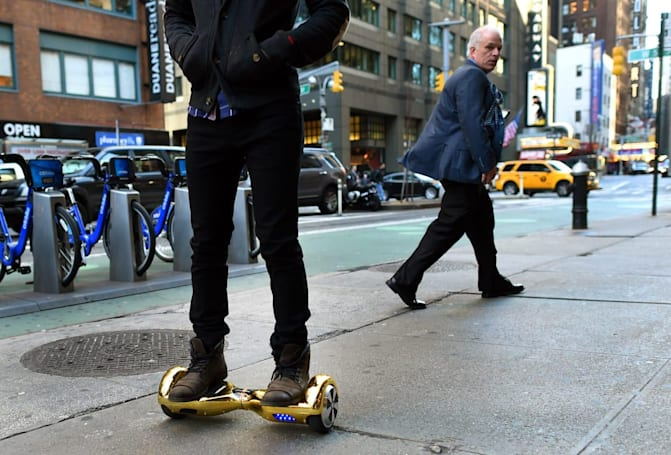 The US is looking into exploding self-balancing skateboards