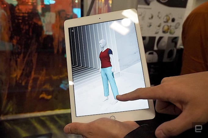 3D body scanner promises perfectly fitting clothes