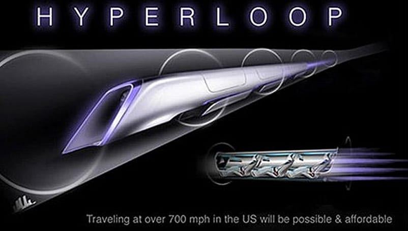 Hyperloop test track likely bound for Texas