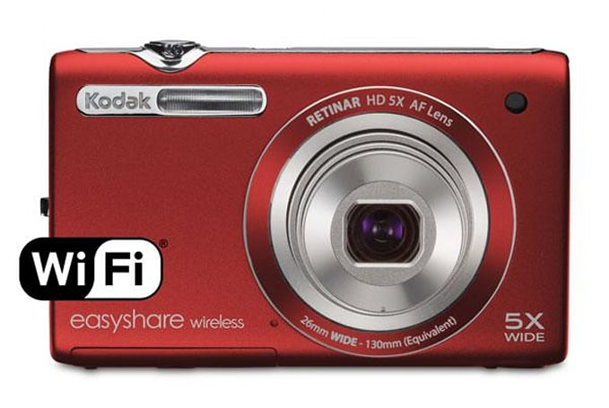Kodak intros new connected Easyshare M750 and Playfull Dual Camera, adds instant uploads over WiFi