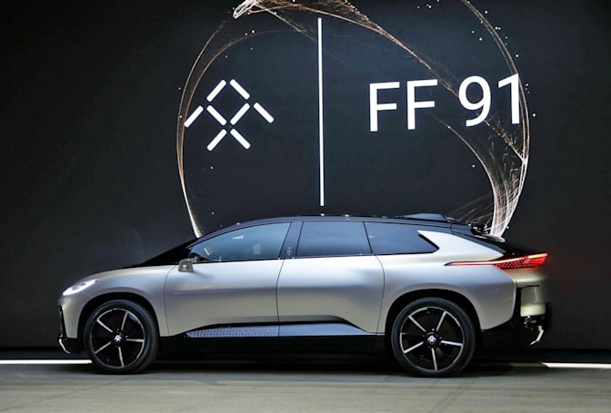Faraday Future is selling its Las Vegas site for $40 million